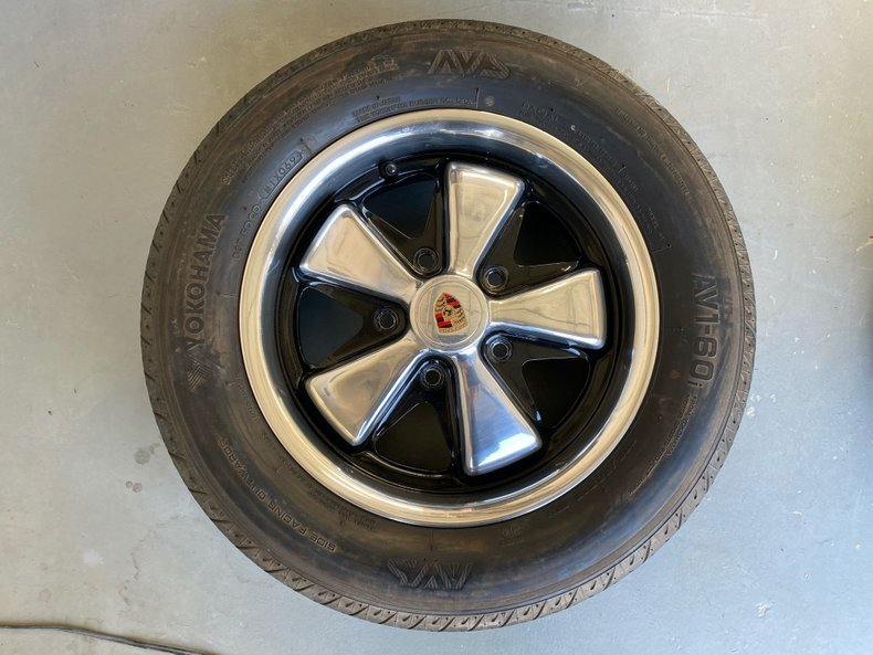 1970 Set of 4 6Jx16 OEM Porsche 911 Fuchs Wheels + Many More  For Sale (picture 5 of 6)