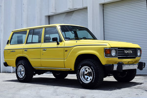 1985 Toyota FJ60 SUV 4WD 4x4 Manual LHD Gas Clean $29.5k