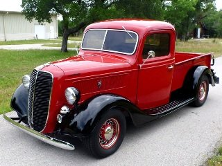Picture of 1937 Ford Pickup Truck All Custom 350ZZ+ 5 speed AC $89.5k  For Sale