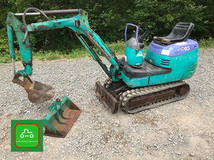 1998 KOMATSU MICRO DIGGER WITH BUILT IN BREAKER SEE VIDEO SOLD