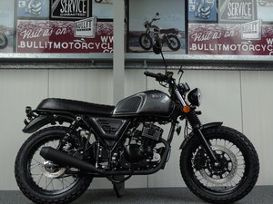 Bullit Motorcycles Bluroc 125cc 2020 Brand New
