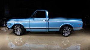 1972 Chevrolet Cheyenne Pick Up Truck V-8 Manual Blue $34.9k