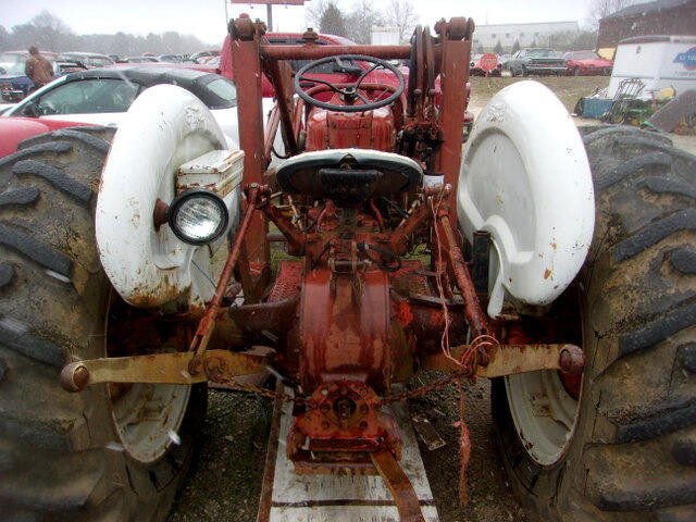 1960 Ford B600F with Front end Loader + Wheel Weights Runs $6.5k For Sale (picture 6 of 6)