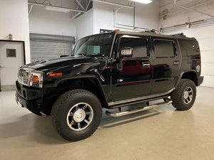 2007 HUMMER H2 4WD SUV 6.0L Gas All Clean  Black $29.7k