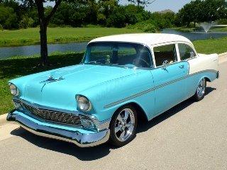 1956 Chevrolet 210 HardTop Custom LS1 + LS6 intake $75k