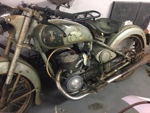 AUTOMOTO MOPED RESTORATION PROJECT