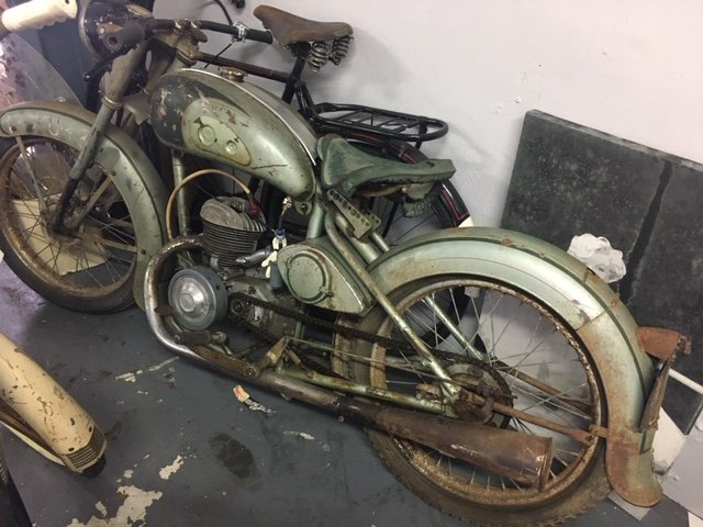 1950 AUTOMOTO MOPED RESTORATION PROJECT For Sale (picture 3 of 3)
