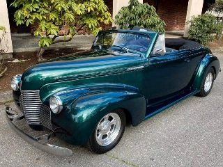 Picture of 1940 Chevrolet Convertible Custom Roadster 402 B~B Green $59 For Sale