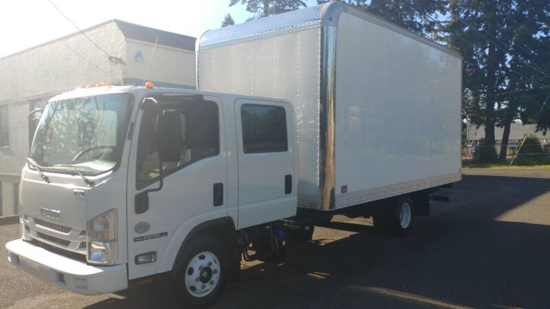 2018 Isuzu NPR with 16 Foot Box Lift~gate 5 foot w Warranty For Sale (picture 2 of 6)