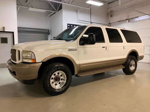 2003 Ford Excursion Eddie Bauer SUV 4WD Diesel Ivory $20.7k