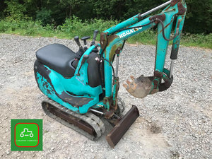 2000 KOMATSU PC01 TINY MICRO DIGGER SEE VIDEO CAN DELIVER SOLD