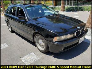 2001 BMW E39 525IT TOURING WAGON Rare 5 Speed $obo