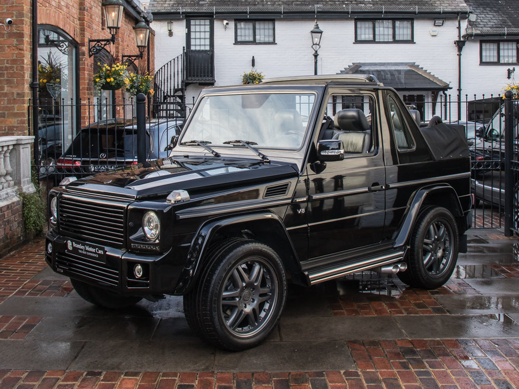 2007 Mercedes-Benz G500 Cabriolet with Brabus Upgrades For ...