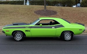 1970 Dodge Challenger T/A 340 6-pack Rare Green Auto $79.9k For Sale