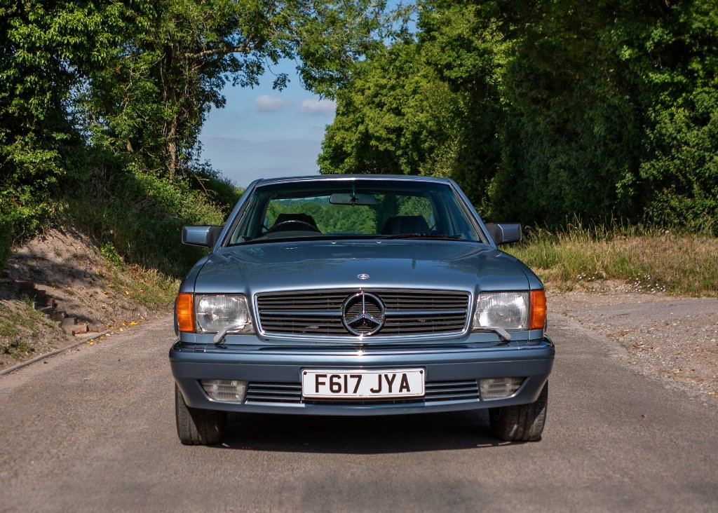 1989 Mercedes-Benz 500 SEC SOLD by Auction (picture 1 of 6)