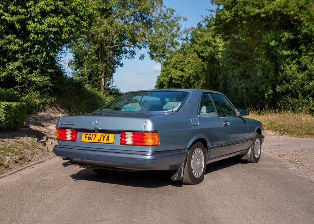 1989 Mercedes-Benz 500 SEC SOLD by Auction (picture 2 of 6)