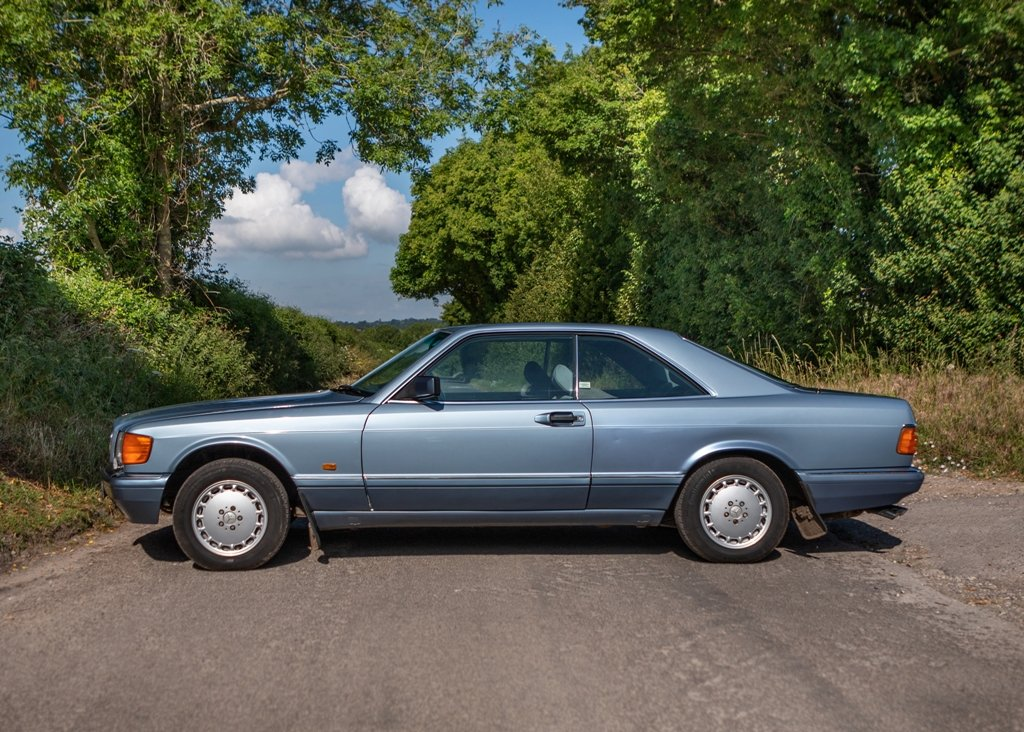 1989 Mercedes-Benz 500 SEC SOLD by Auction (picture 4 of 6)