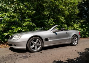 2003 Mercedes-Benz 500 SL Roadster For Sale by Auction