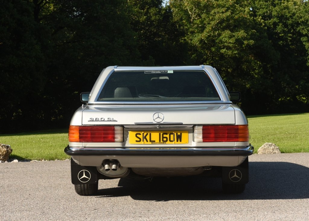 1980 Mercedes-Benz 380 SL Roadster SOLD by Auction (picture 3 of 6)