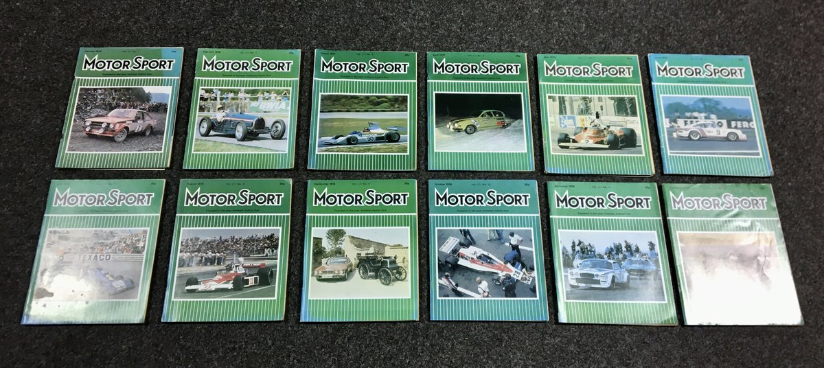 1970 Motor Sport Magazines - Fantastic Condition & Original For Sale (picture 1 of 6)