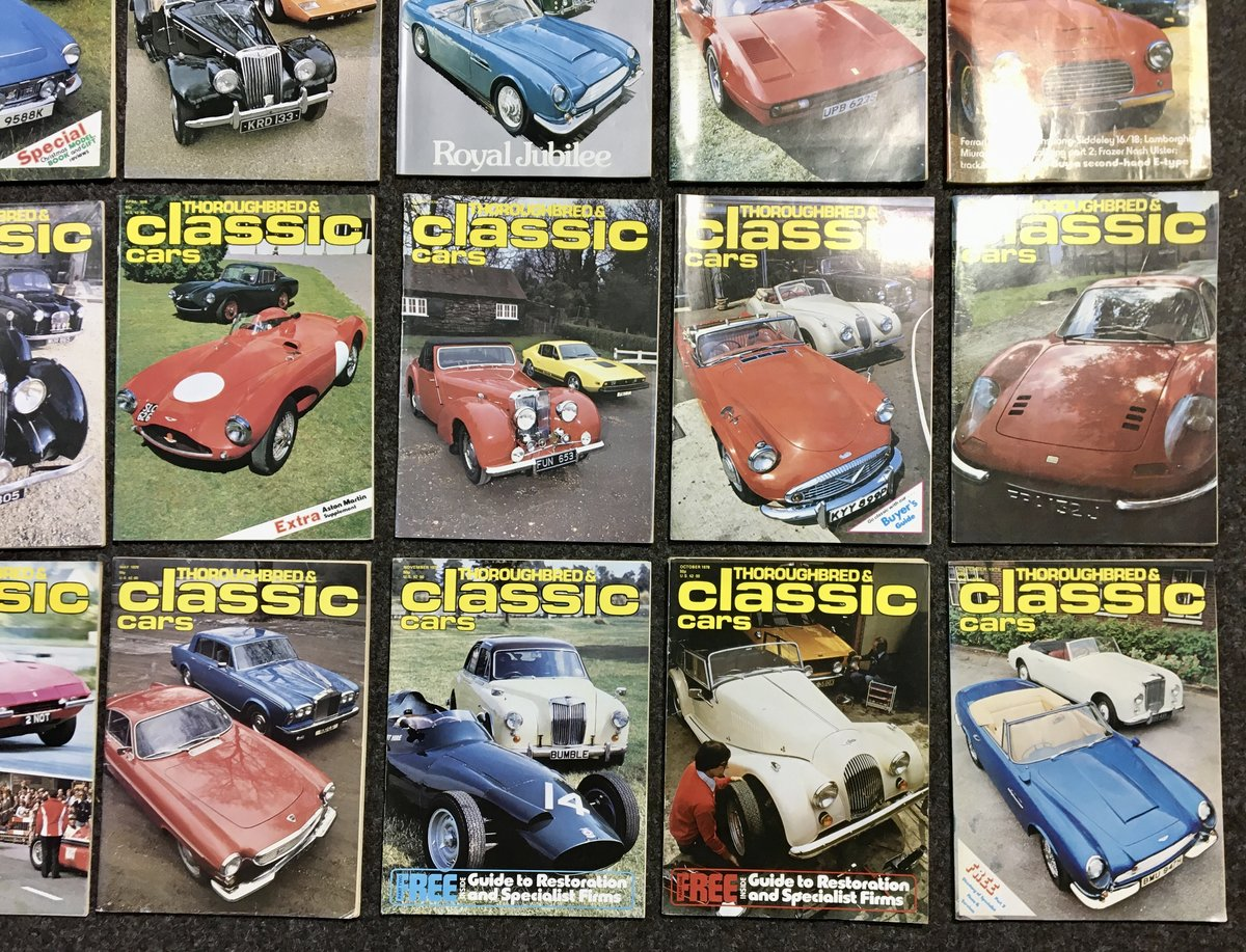 1970 Thoroughbred Classic Car Magazines - Mint & Original! For Sale (picture 2 of 6)