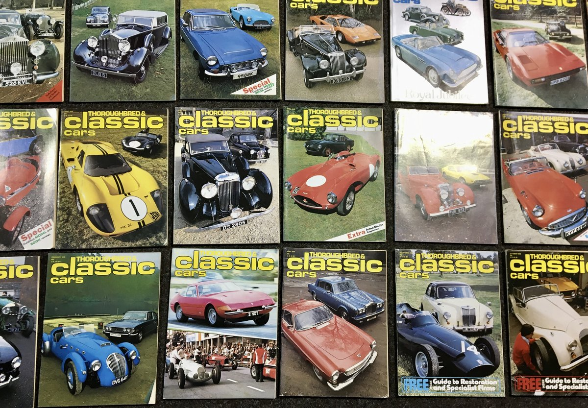 1970 Thoroughbred Classic Car Magazines - Mint & Original! For Sale (picture 3 of 6)