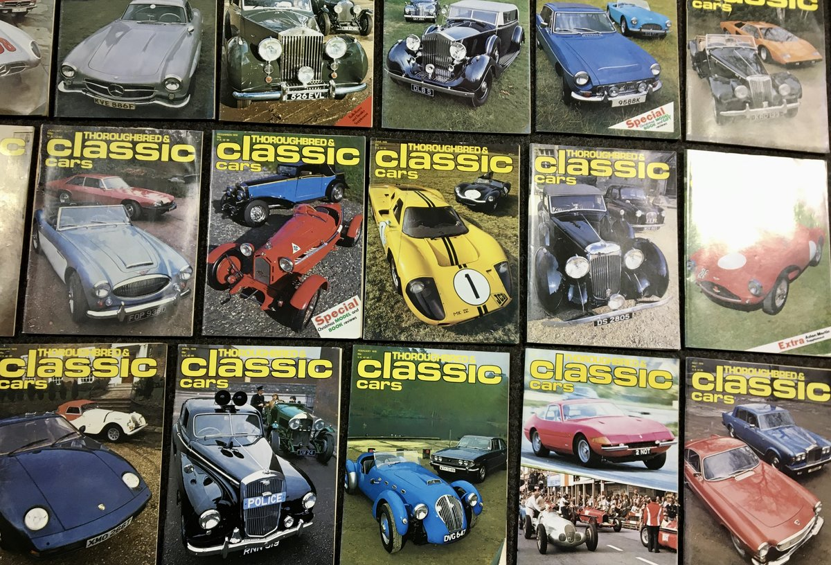 1970 Thoroughbred Classic Car Magazines - Mint & Original! For Sale (picture 4 of 6)