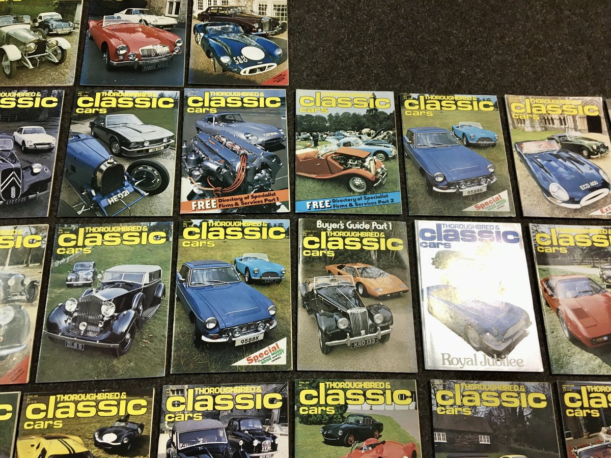 1970 Thoroughbred Classic Car Magazines - Mint & Original! For Sale (picture 6 of 6)