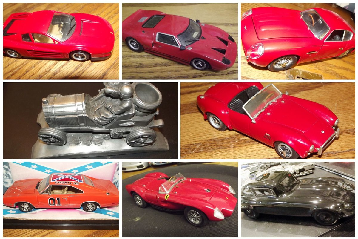 0000 MODEL CARS ferrri, aston, lambo, delorean, cadillac, trucks  For Sale (picture 5 of 6)