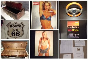 miscellanious memorabilia for sale list 2/4