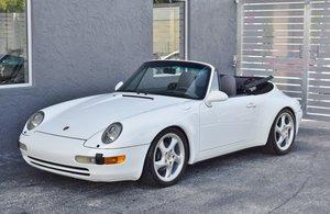 1995 Porsche 911/993 CARRERA CABRIOLET 3.6L Rare $42.5k