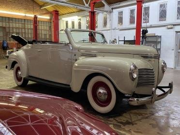 Picture of 1940 Plymouth Convertible Roadster Ivory(~)Burgundy $obo For Sale