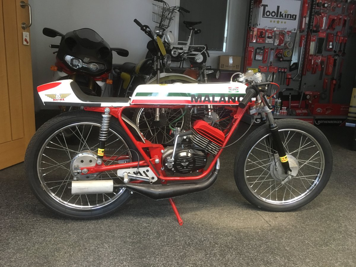 1973 Malanca Road Race 50cc For Sale (picture 2 of 6)