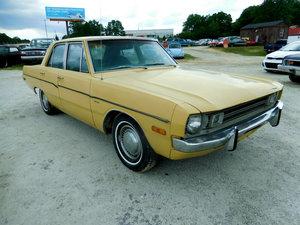 1972 Dodge Dart 4 door Sedan Driver Yellow cold AC Auto  $3k