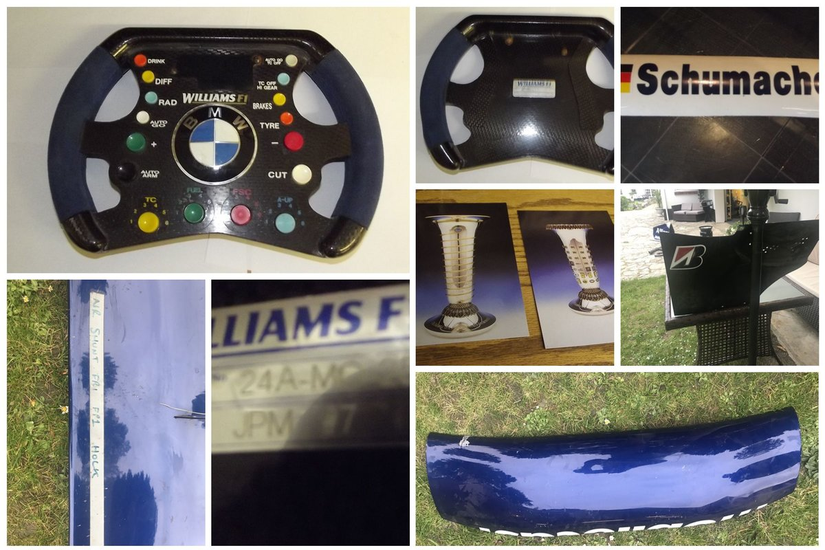 0000 F1 WILLIAMS RACETEAM ETC ITEMS 4 SALE For Sale (picture 3 of 6)