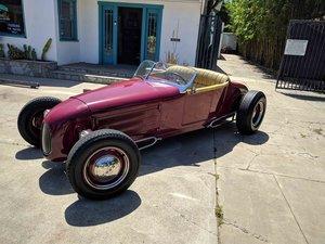 1934 Ford Speedster Hot Rod Roadster Convertible 4~cyls