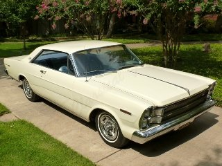 1966 Ford Galaxie 500 HardTop 428 auto only 4k miles $24.7k