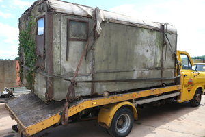 Picture of 1950 US Army Radio box  HO 17 lorry back SOLD