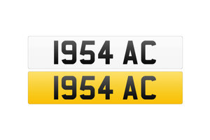 Registration Number - 1954 AC