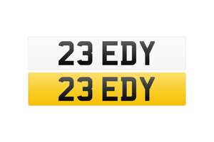 Registration Number - 23 EDY