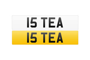 Registration Number - 15 TEA