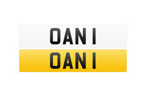 Registration Number - OAN 1