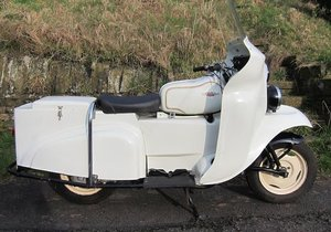 1968 DMW 247CC DEEMSTER EX-POLICE (LOT 316)