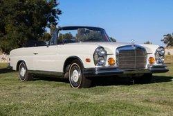 1971 Mercedes 280SE 3.5 Cabriolet Floor~Shit AC Ivory $252k For Sale (picture 1 of 6)