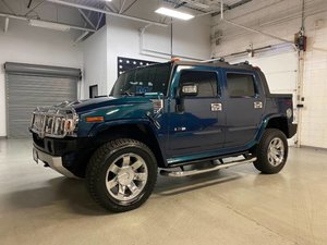 2008 HUMMER H2 SUT Luxury SUV gas Marine Blue $43.7k