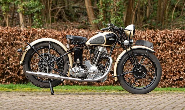 C.1936 IVORY CALTHORPE 500CC (LOT 417) SOLD by Auction (picture 1 of 1)