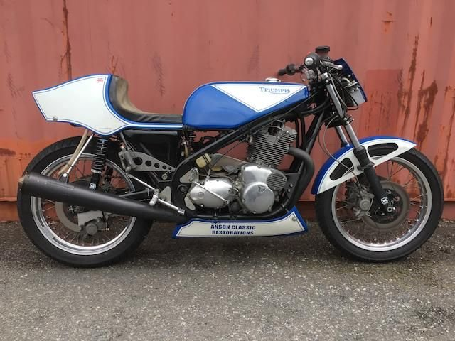 0000 P&M TRIUMPH 'ROB NORTH' 930CC RACING MOTORCYCLE (LOT 435) SOLD by Auction (picture 1 of 1)