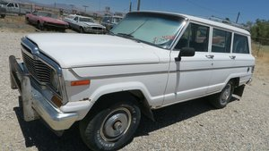 1981 Jeep Wagoneer 4x4 Dry Project 360 auto Ivory  $3.9k