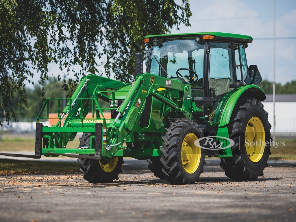 2016 John Deere 5100 E Tractor  For Sale by Auction (picture 1 of 6)