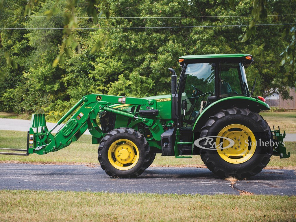 2016 John Deere 5100 E Tractor  For Sale by Auction (picture 4 of 6)